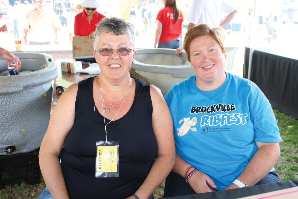 Brockville Ribfest volunteers